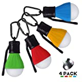 LED Tent Lamp, AOPETIO Camping Lantern Light Portable Power Bright Lighting with Waterproof Bulbs for Outdoor Indoor Activities