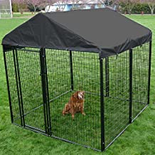 AKC 10 ft. x 10 ft. Welded Wire Kennel