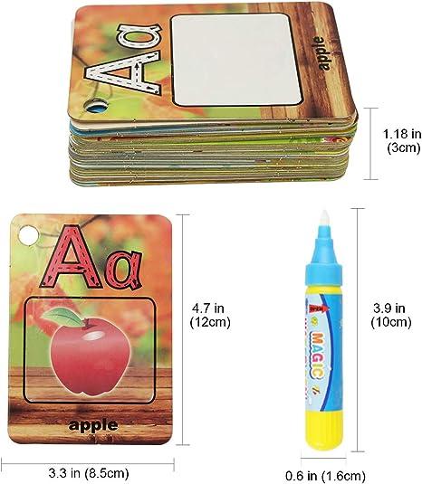 Amazon.com: Jenilily – Tarjeta de dibujo de agua para pintar ...