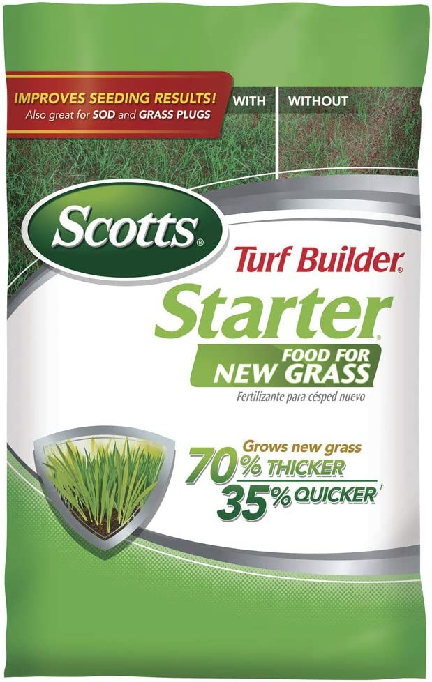 Scotts Turf Builder Starter Food Fertilizer for St Augustine Grass
