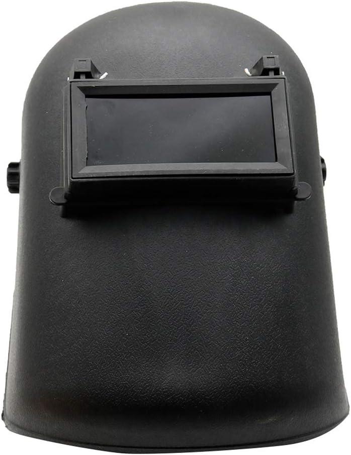 Guoda Casco de Soldadura-Máscara de Soldadura Casco De Soldador Montado En La Cabeza | Protección Radiológica | Resistencia A Altas Temperaturas | Negro