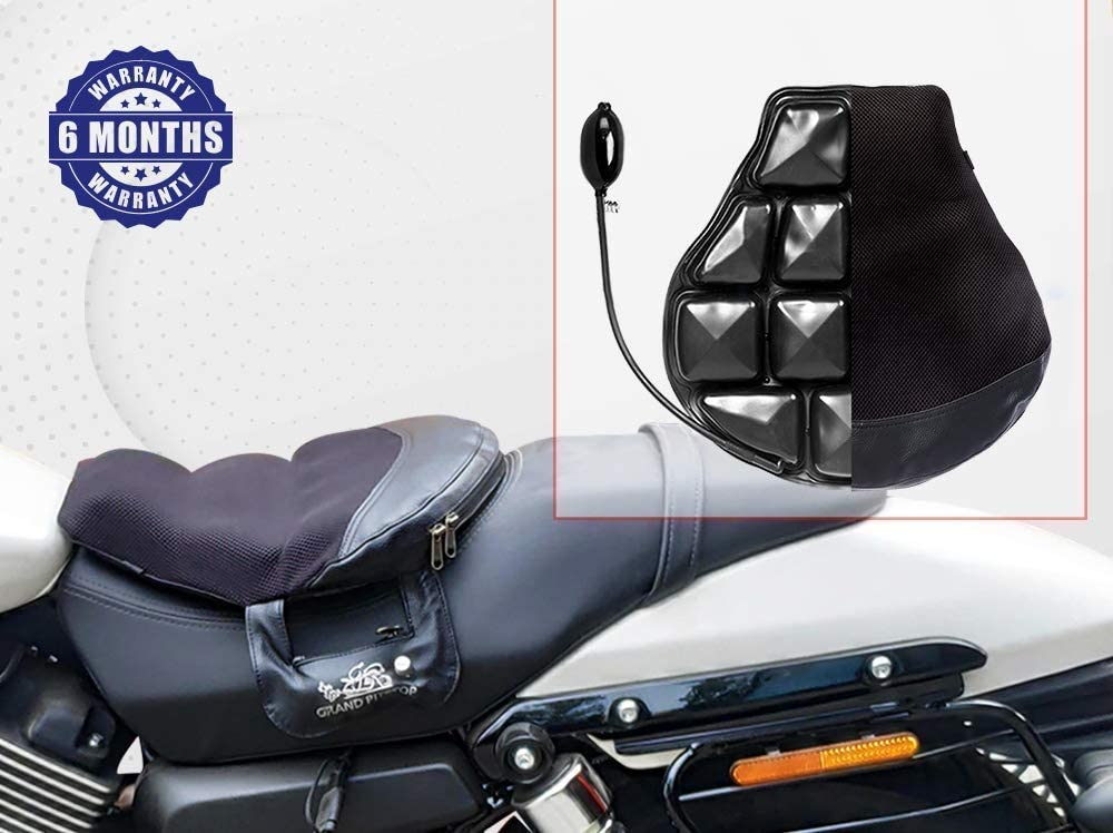 GrandPitstop Air Comfy Seat Air Pad Kissen Sitzkissen f/ür Motorrad//Komfortable Sitzkissen f/ür Cruiser Bike
