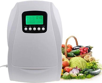 Rioneon Generador de ozono Activo portátil Esterilizador Purificador de Aire Limpieza de Frutas Agua Vegetal Preparación de Alimentos Ozonizador Ionizador: Amazon.es: Hogar