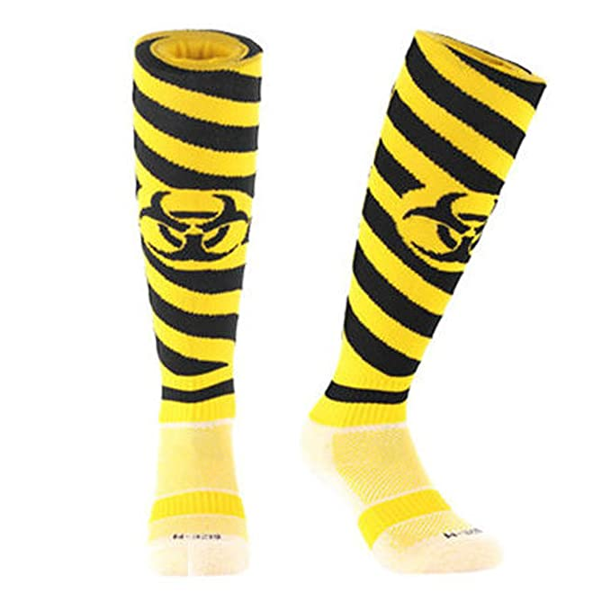 Samson Hosiery ® Radiación impresión Funky Novedad Moda Regalo Calcetines de fútbol RUGBY deportes y Casual