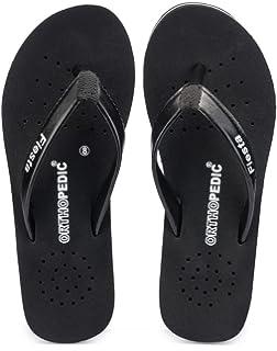 e23aeca54859da Frestol Black Slipper for Womens  Buy Online at Low Prices in India ...