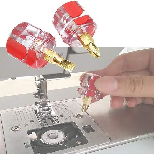 YICBOR - Juego de destornilladores planos y gruesos para máquina ...