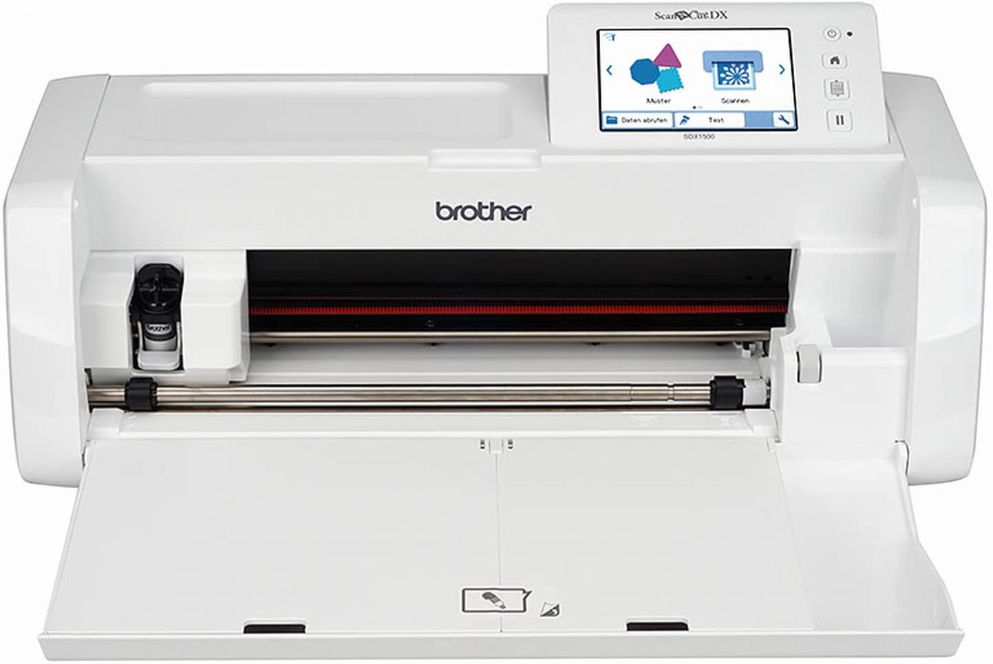 Brother ScanNCut SDX1500 - Plóter de Corte (Accesorio Extra para Cortar, escanear y Estampar): Amazon.es: Electrónica
