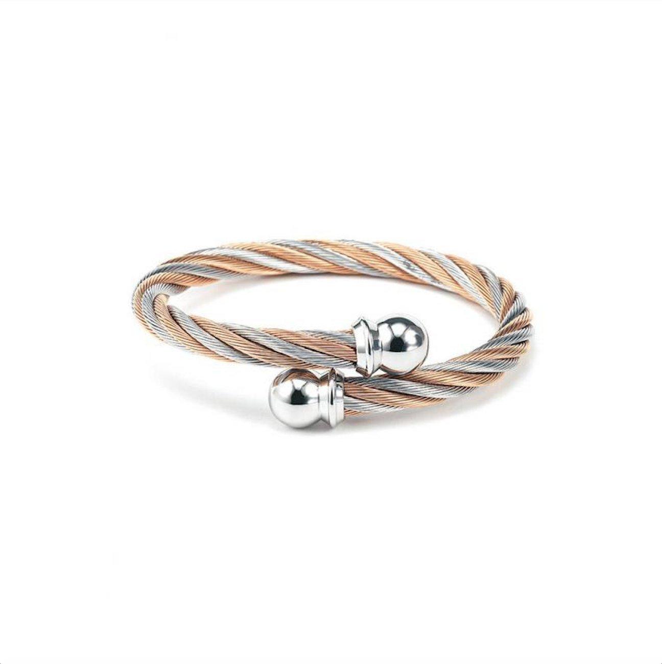 New Charriol Celtic Jewels Bracelet Bangle 04-901-1216-0 Medium Unisex Jewelry