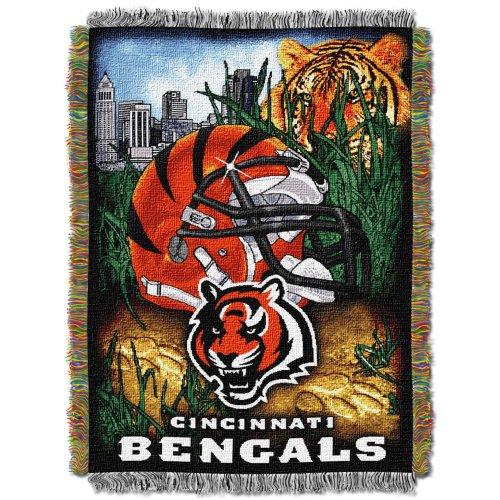 Cincinnati Bengals Blanket Throw - 5