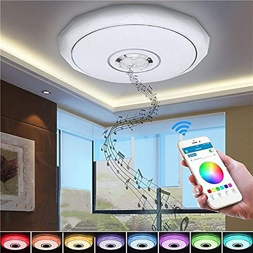 LED Deckenleuchte Sternhimmel 60W dimmbar Farbwechsel Fernbedienung Flurlampen