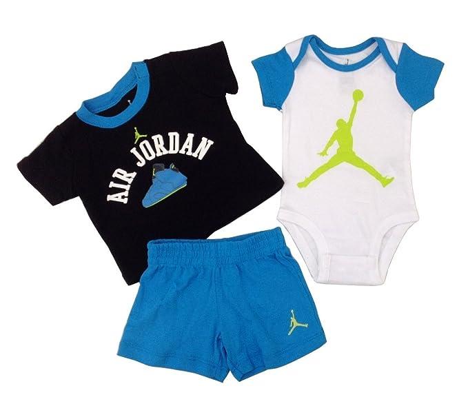 info for bd919 5ddaa Nike Jordan Neonati Neonato e Pantaloni Layette Set Amazon.it  Abbigliamento