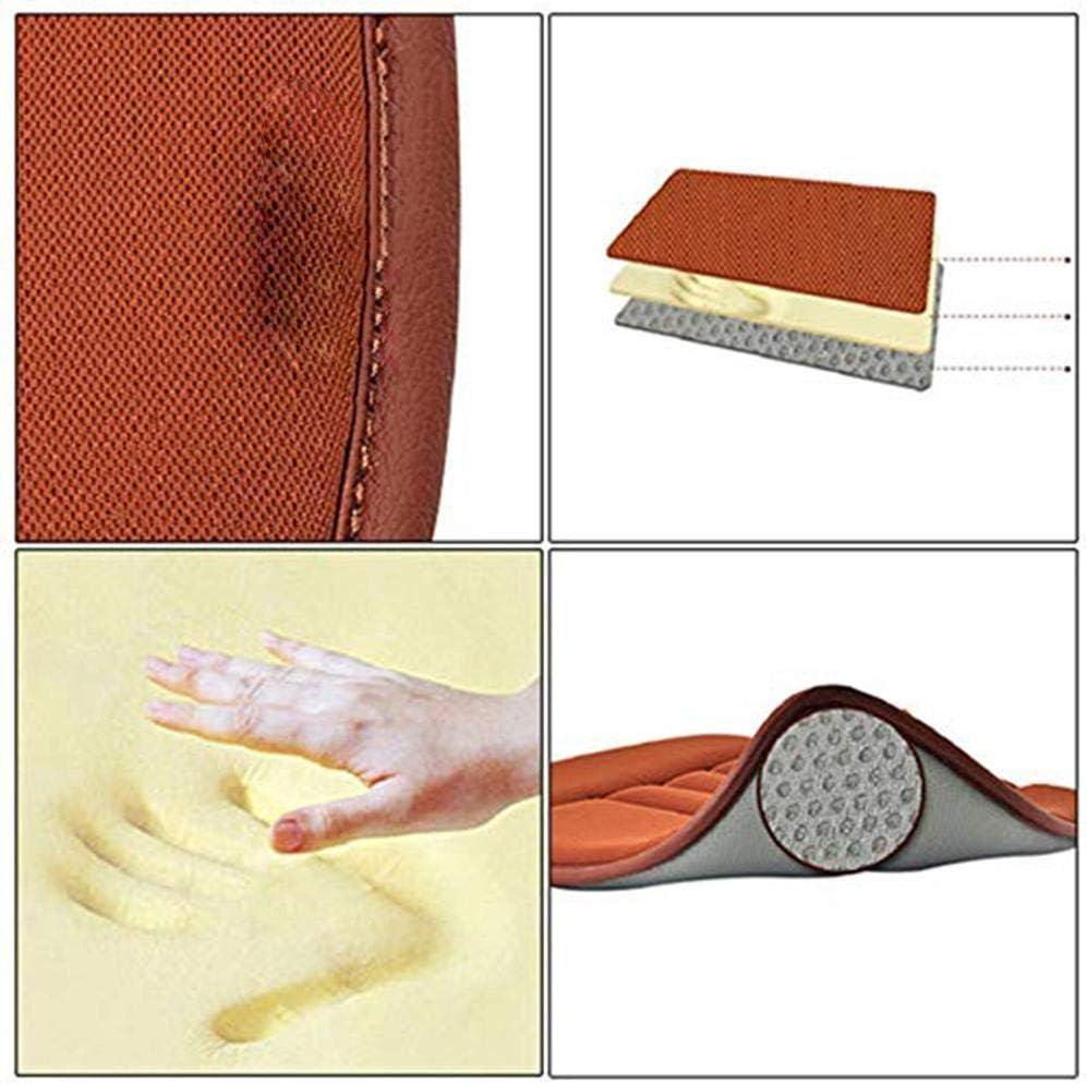 lā Vestmon Coussin si/ège Voiture Coussin d/'Assise pour Voiture Coussin Ergonomique de Voiture Coton m/émoire Antid/érapant Version Confort
