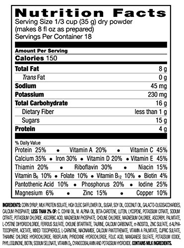 Go & Grow By Similac Sensitive Milk Based Toddler Drink, For Lactose Sensitivity, Large Size Powder, 23.2 Ounces (Pack of 6) by Similac (Image #5)