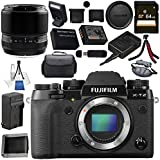 Fujifilm X-T2 Mirrorless Digital Camera (Body Only) 16519247 + Fujifilm 60mm f/2.4 XF Macro Lens 16240767 Bundle