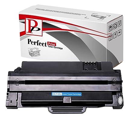 PerfectPrint - Compatible Samsung MLT105L cartucho de toner para ML-1910 ML-1915 ML-2525 ML-2525W ML-2580N SCX-4600 SCX-4623F SCX-4623GN SF-650 ...