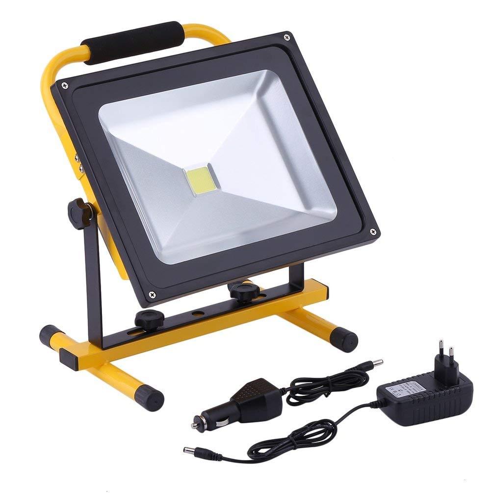 incentivi promozionali Hehilark - Faro per esterni, 50 50 50 W, luce bianca calda, 50 W, LED RGB, 4500 lm, IP66  prezzi bassi di tutti i giorni