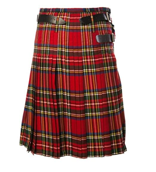 Escocés Tartán Falda Escocesa Escocés Mini Billie Falda ...