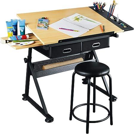 Artist S Loft Arts And Crafts Creative Center Art Desk And Craft Center With Storage