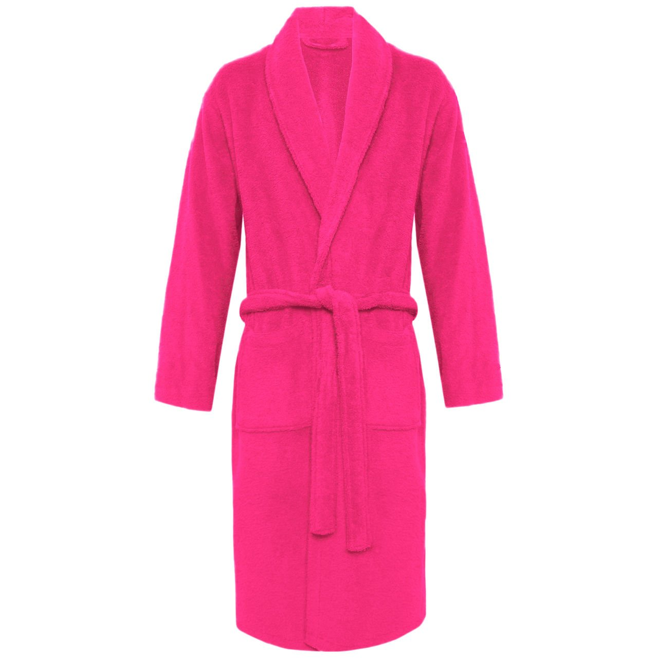 Unisex 100% Luxury Egyptian Cotton Super Soft Velour Towelling Bath Robe Dressing Gowns Bathrobe Terry Towel Housecoat Nightwear Lounge Wears With Pockets And Belt