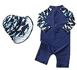Baby Boys Kids Long Sleeve UV Sun Protection Rash