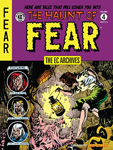 The EC Archives: The Haunt of Fear Volume 4 (Archival Archive Binder)