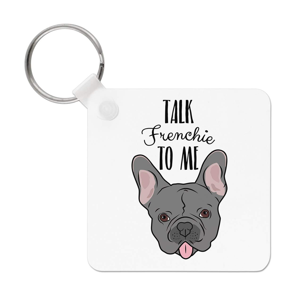 Im Not A Dog Person Im A Schnauzer Mummy Ideal Gift//Present Dog Keyring