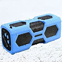 Waterproof Sport Speaker, Portable Wireless Stereo Bluetooth Speaker with 3600mAh Power CSR4.0 IPX56 NFC for Outdoor Adventure Beach Shower, Compatible with All Bluetooth Android and iOS Devices