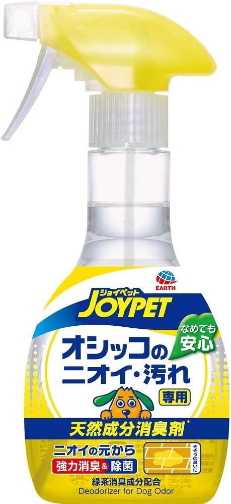 アース ジョイペット 天然成分消臭剤 オシッコのニオイ・汚れ専用