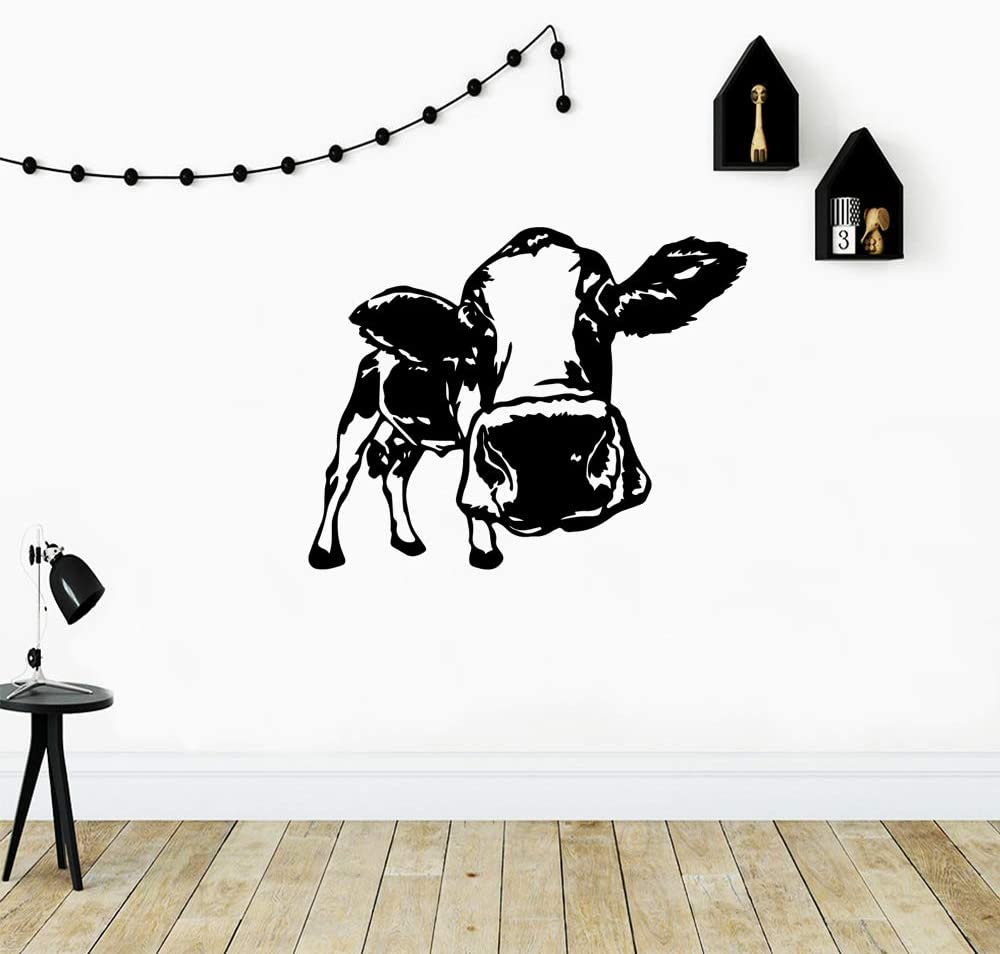 BailongXiao Pegatinas de Pared de Vaca con Mejores Ventas, Pegatinas de Pared extraíbles, Papel Pintado DIY, Accesorios de decoración de calcomanías de Pared Impermeables 42x52 cm: Amazon.es: Hogar