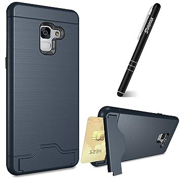 Slynmax Carcasa Samsung Galaxy A8 2018 [con un bolígrafo ...
