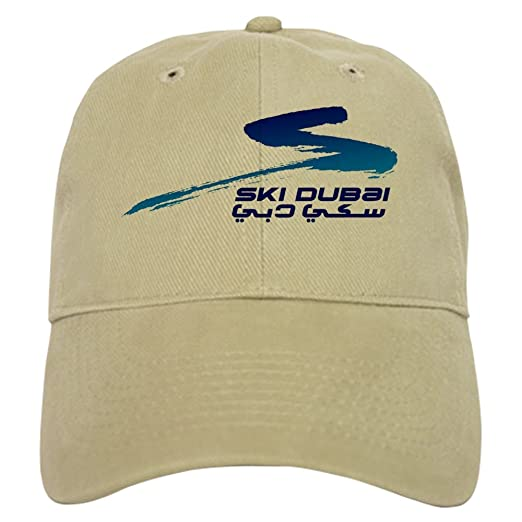 1f541c3b5b9 CafePress - SKI-DUBAI logo Cap - Baseball Cap with Adjustable Closure