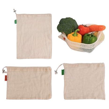 Ysoom - Bolsas de Frutas y Verduras de algodón orgánico ...