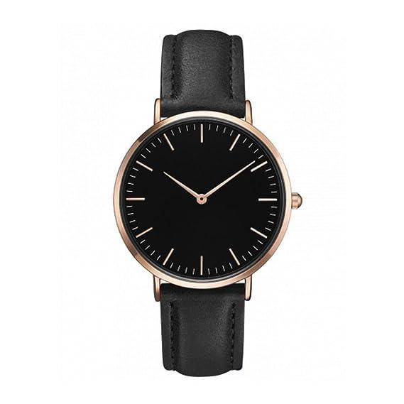 Relojes Mujer Baratos, SMARTLADY Cuero PU Acero Inoxidable Analógico Cuarzo Elegantes Relojes de pulsera de