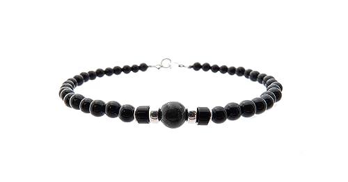 Mens Black Onyx Bracelet Mens Beaded Bracelet Black Bracelet Boyfriend Gift Husband Gift Son Gift Mens Gift Mens Bracelet Father Bracelet