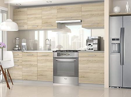 Tarraco Comercial Muebles de Cocina - Economy 240 CM Sonoma: Amazon.es: Hogar