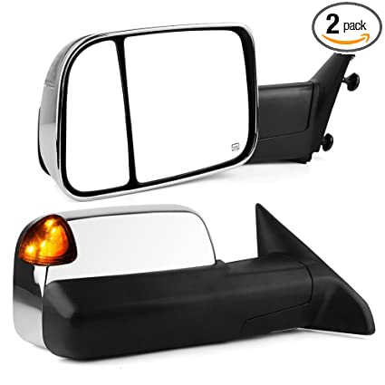 Amazon Com Towing Mirrors Compatible For Dodge Ram Yitamotor