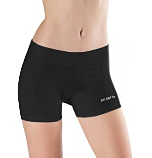 Baleaf Women S 3d Padded Bicycle Cycling Underwear