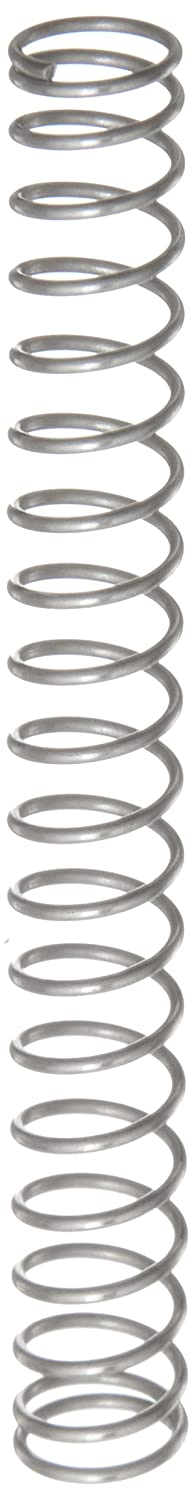 Compression Spring Stainless Steel Metric 8.8 mm OD 0.8 mm Wire Size 23.8 mm Compressed Length 68 mm Free Length 16.28 N Load Capacity 0.37 N mm Spring Rate Pack of 10