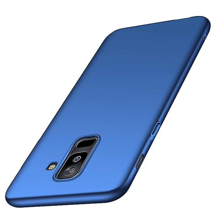 Funda Samsung Galaxy A6/A6 Plus 2018, Ultra Slim Hard PC Case 360 Grados Integral Protección Anti-Scratch Carcasa Protecotra Caso para Teléfono Móvil ...