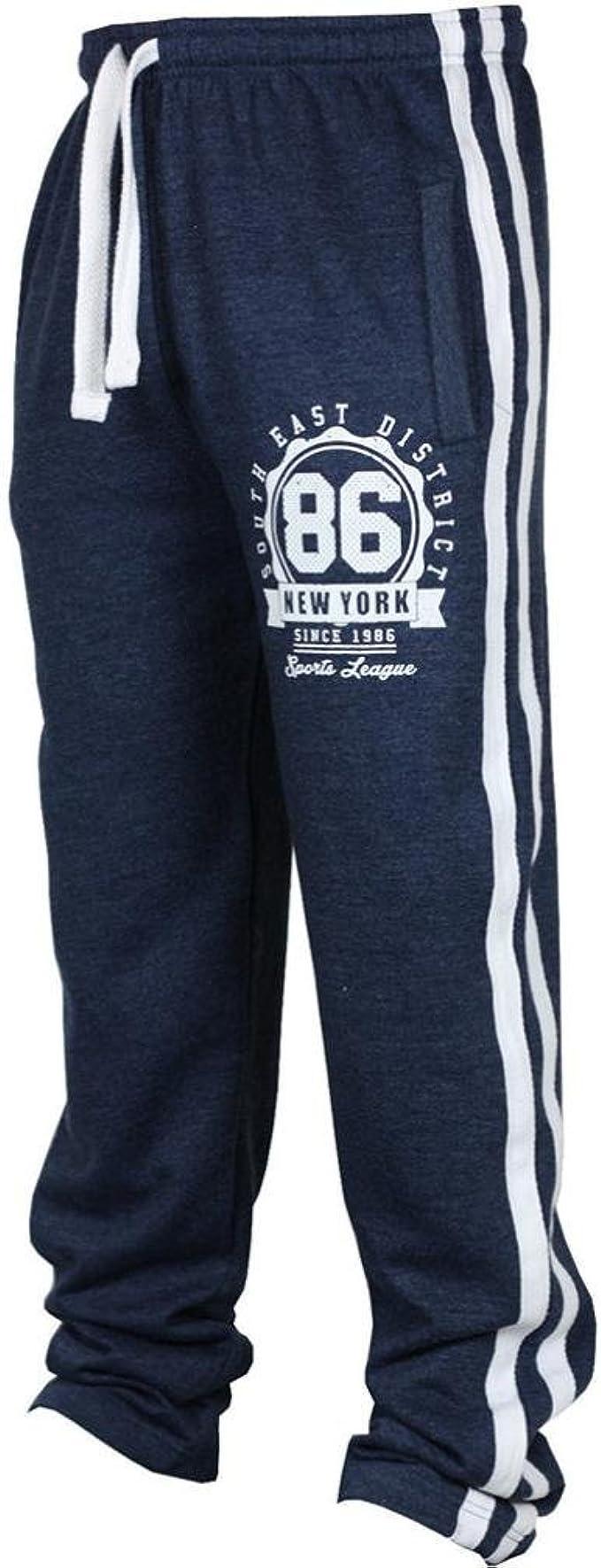 Pantolones para Hombres Talla Grande Pantolones Largo de Chándal ...