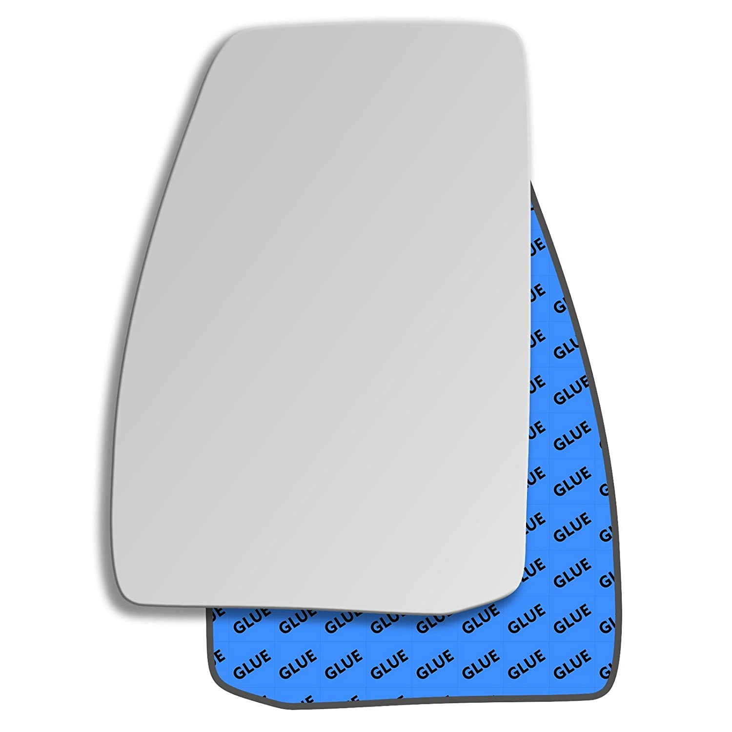 Hightecpl 794LS Left Passenger Side Convex Door Wing Mirror Glass Channel Autoparts Limited
