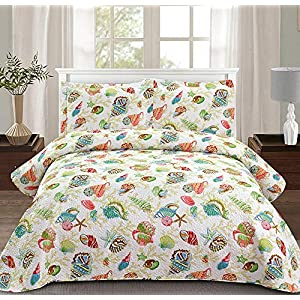 61gDSNLz5fL._SS300_ Coastal Bedding Sets & Beach Bedding Sets