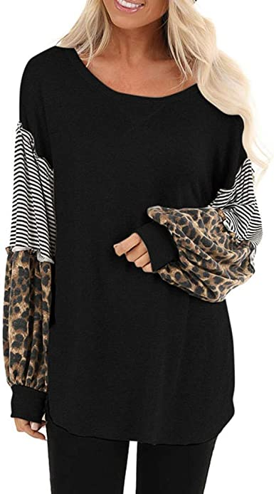 Acilnxm Womens Casual Solid Long Sleeve V-Neck Tops Tunics Blouses Button Up Shirts T-Shirts