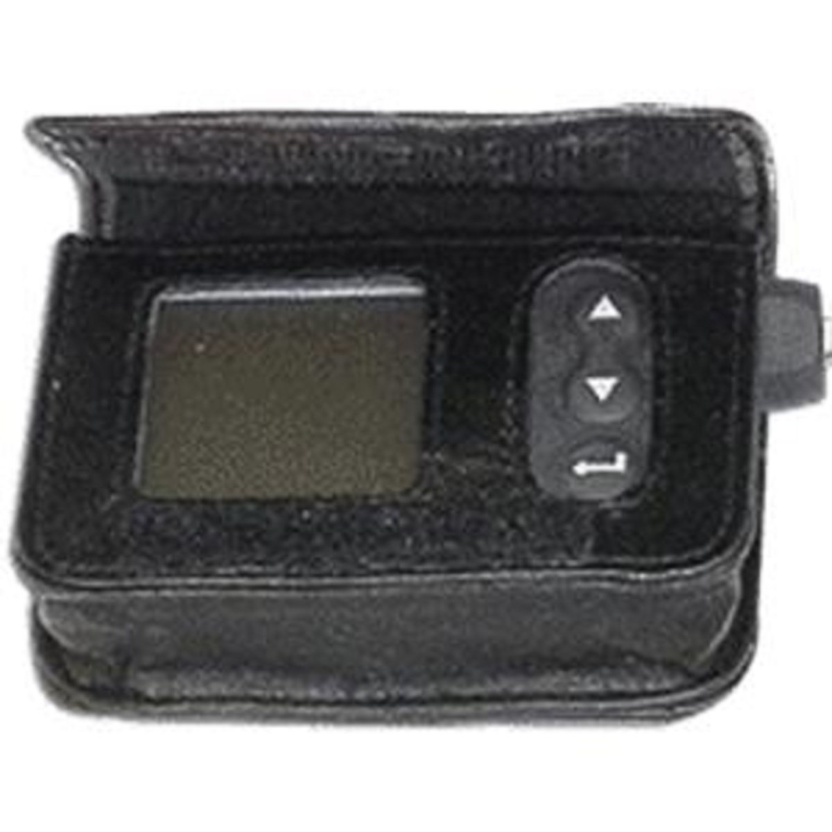 Leather Case with Belt Clip for IR1200 Series, Black