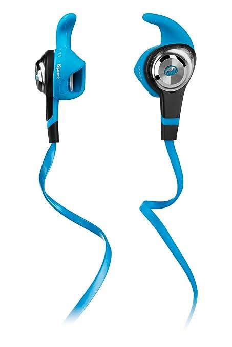 eda045779e6 Monster iSport Strive In Ear Headphones - Blue: Amazon.co.uk: Electronics