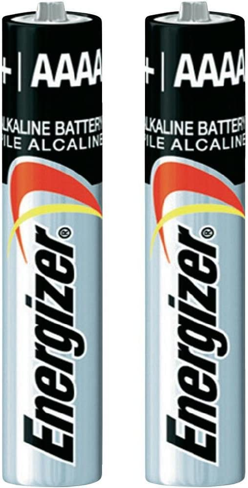 Pack of 100 Energizer E96 AAAA Alkaline Battery - …