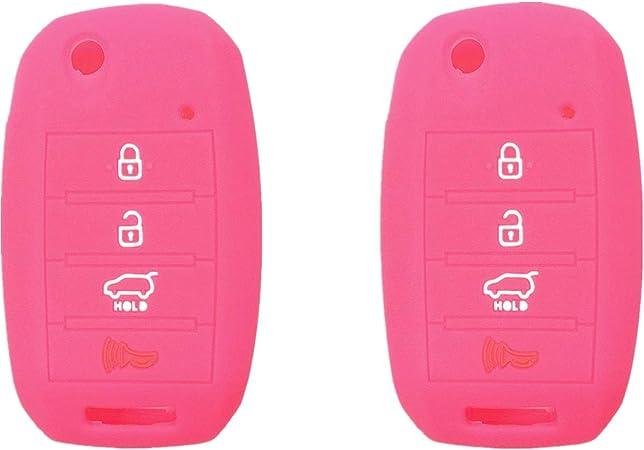 fits Kia Forte Optima Rio Soul Sorento Sportage Key Fob Remote Case Cover Skin Protector