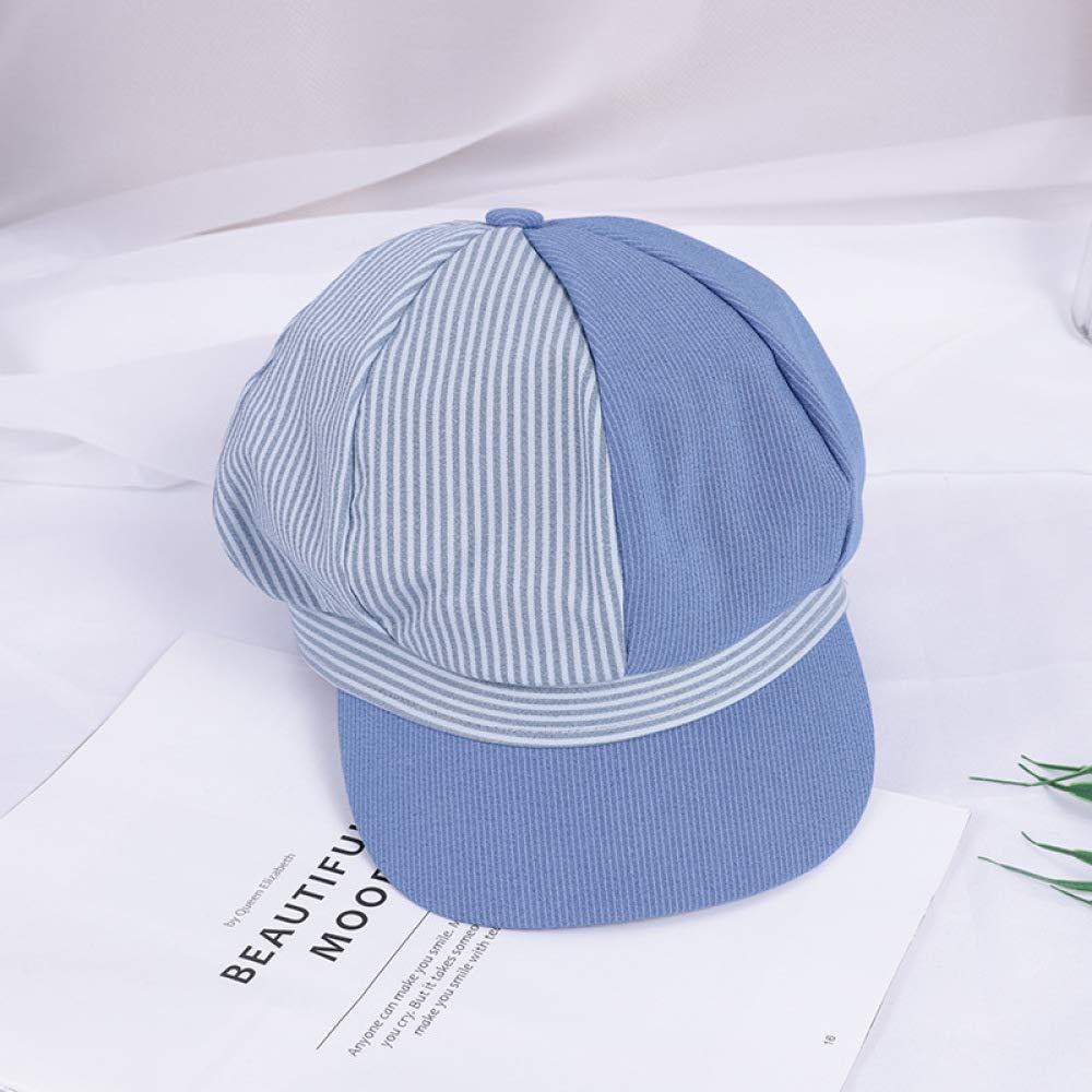 sdssup Gorra británica Retro Pareja Sombrero Mujer Marea Azul M ...