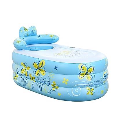 sunhai & bañera hinchable para adultos bañera plegable bañera baño de los niños en el lavabo