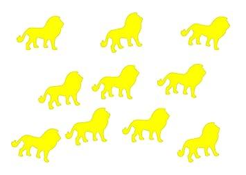 Bügelbilder 10x Löwe Bügelbild Bügelbilder Aufnäher Miniblings 30mm GLATT Katze Sternzeichen